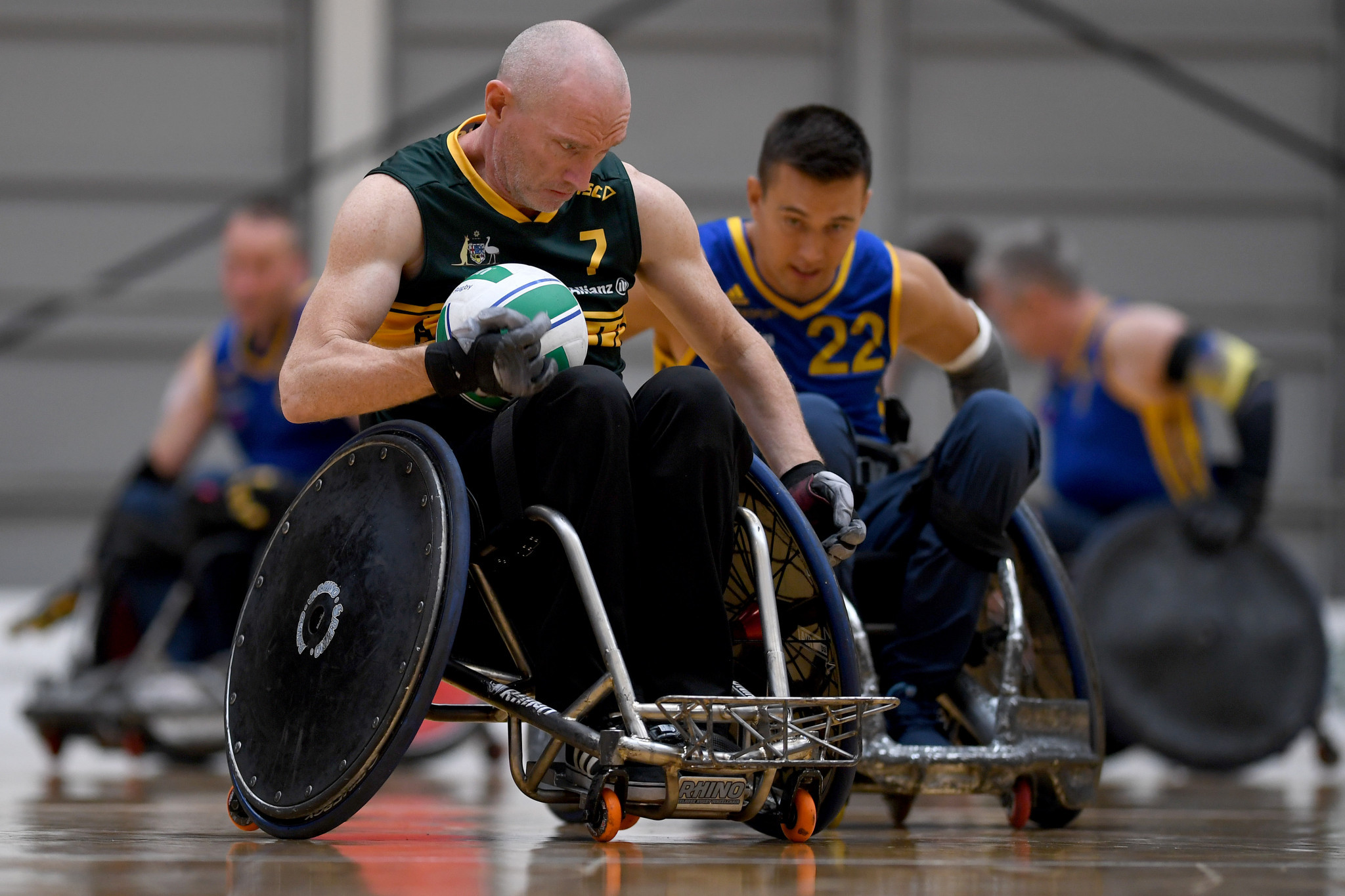 Australia are eyeing a hat-trick of Paralympic gold ©APC