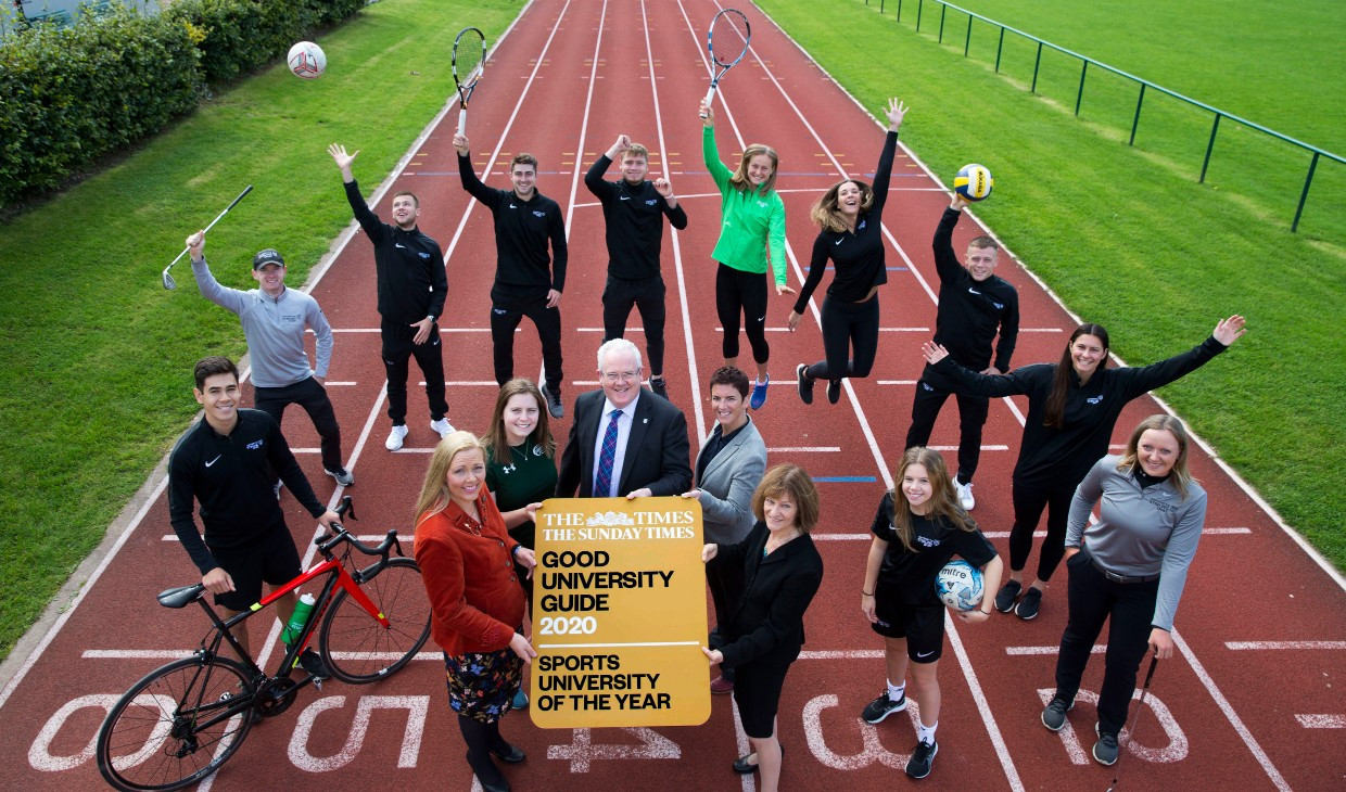 The University of Stirling in Scotland is continuing to invest in sport ©UOS