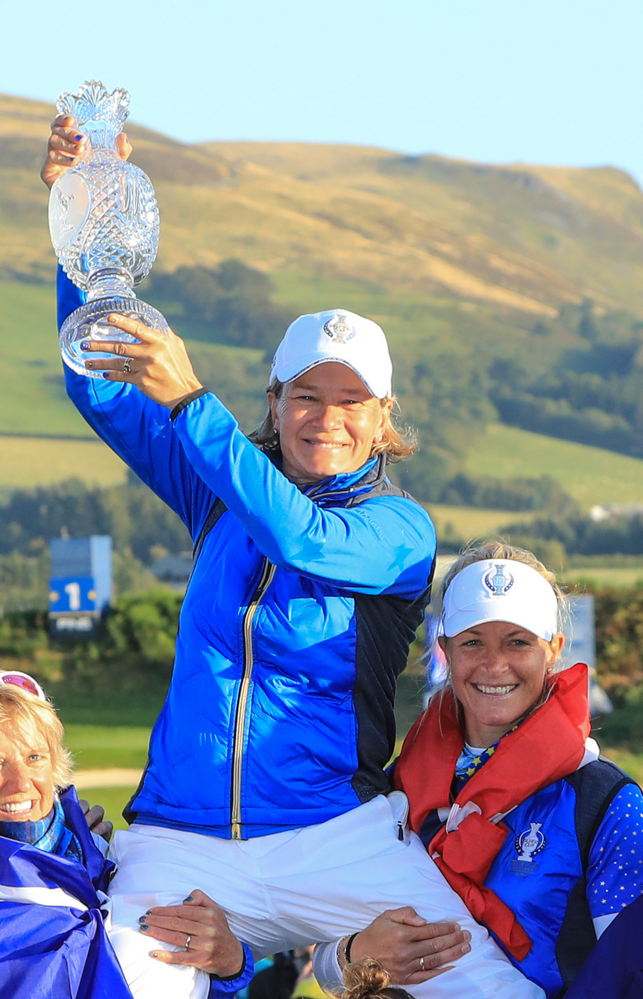 Golfer and Solheim Cup-winning captain Catriona Matthew is among famous Stirling alumni ©Getty Images