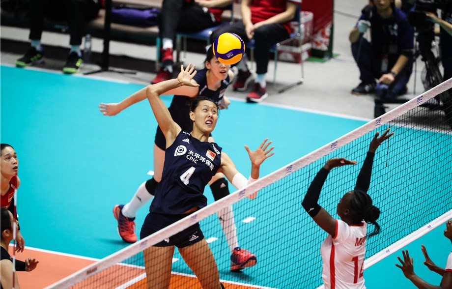 Chinese youngsters keep momentum going at FIVB Women's World Cup
