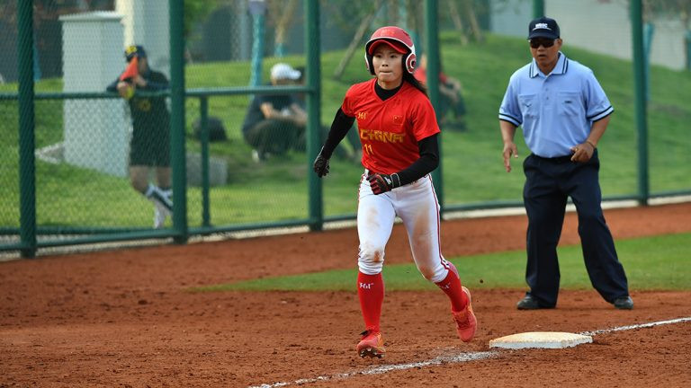 China beat New Zealand after a poor start ©WBSC