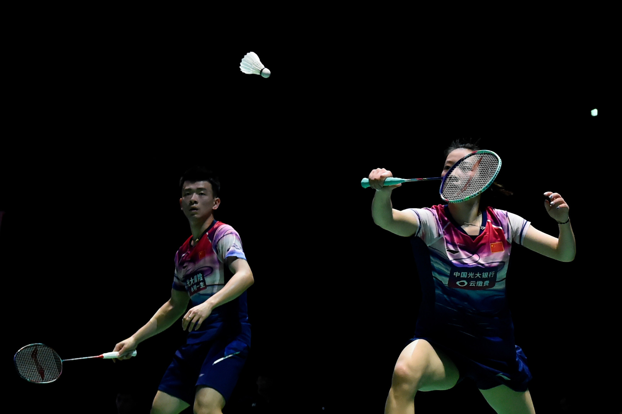 Mixed doubles top seeds reach second round at BWF Korea Open