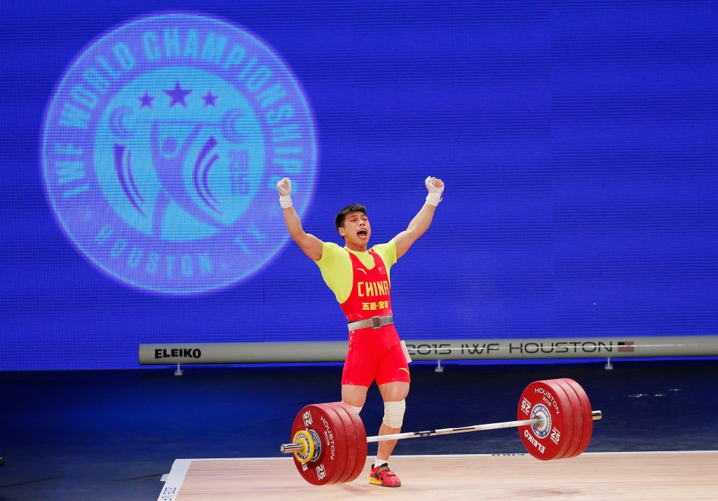 IWF World Weightlifting Championship 2015: Day three of competition