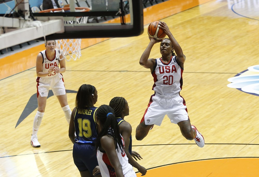United States dominate again at FIBA Women's AmeriCup