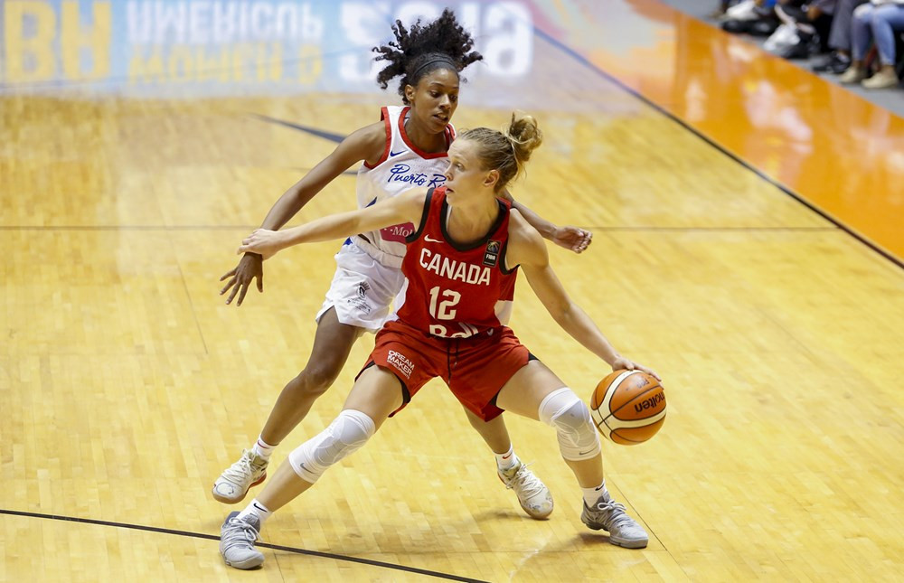 Canada were too strong for hosts Puerto Rico ©FIBA