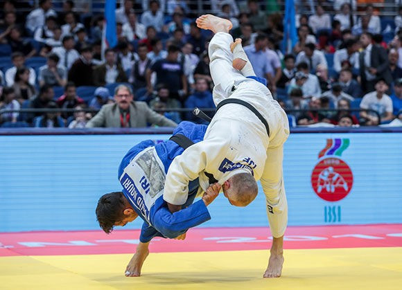 The tournament took place alongside the IJF Grand Prix ©IBSA