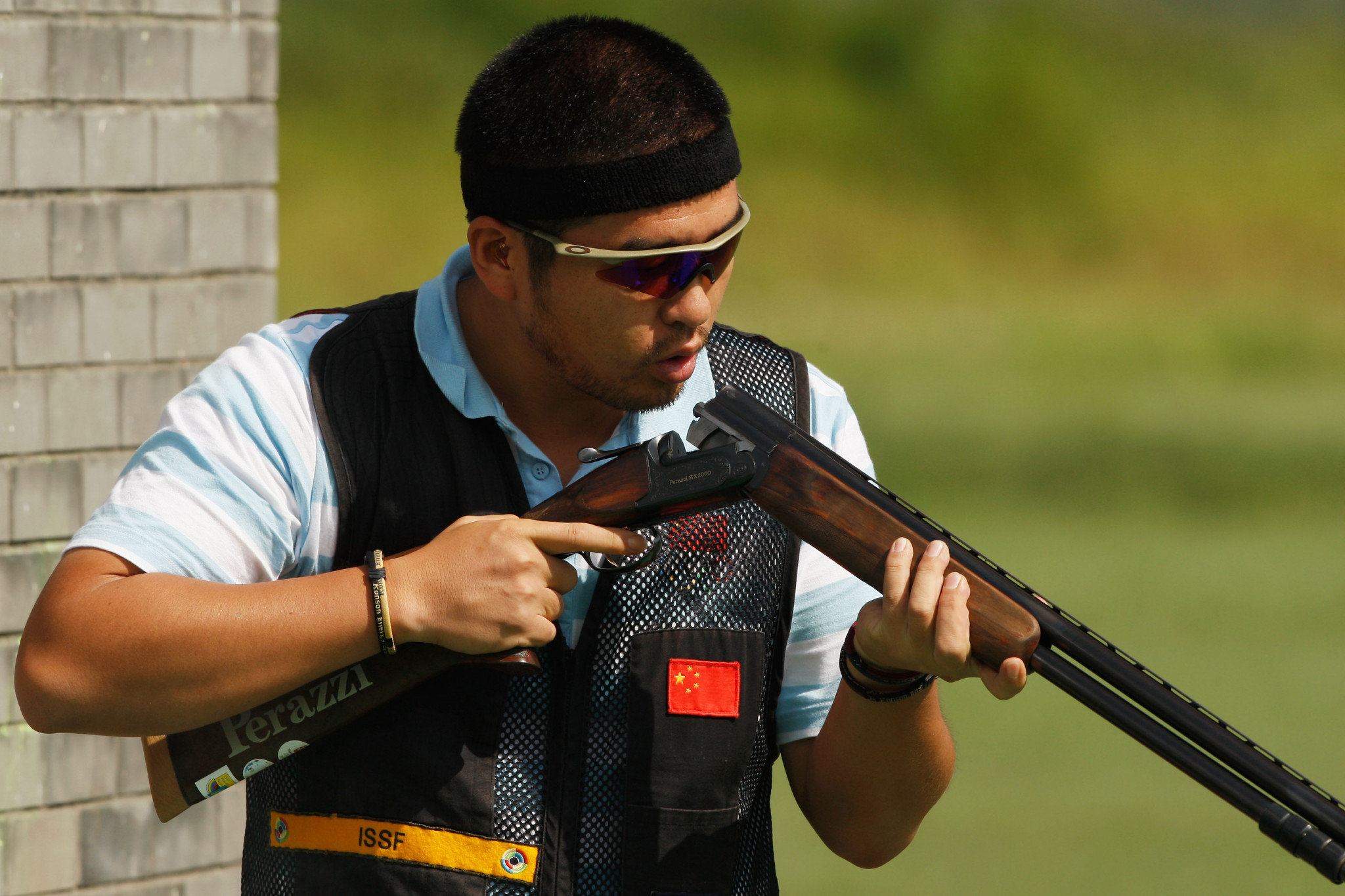 Jin Di of China won the men's skeet title ©Getty Images