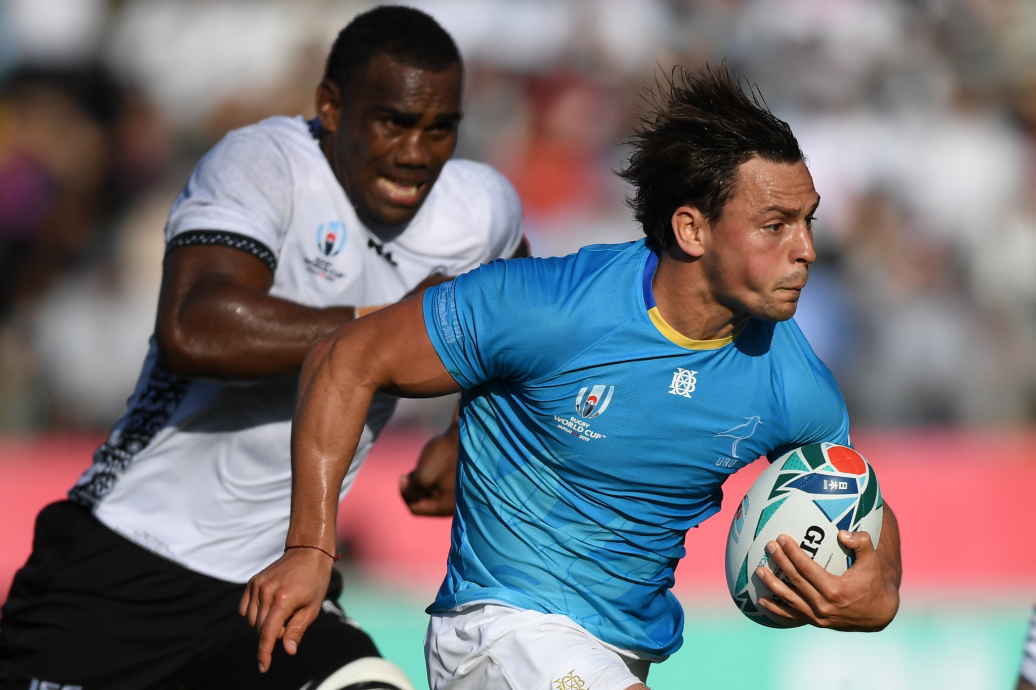Uruguay stun Fiji in first Rugby World Cup shock