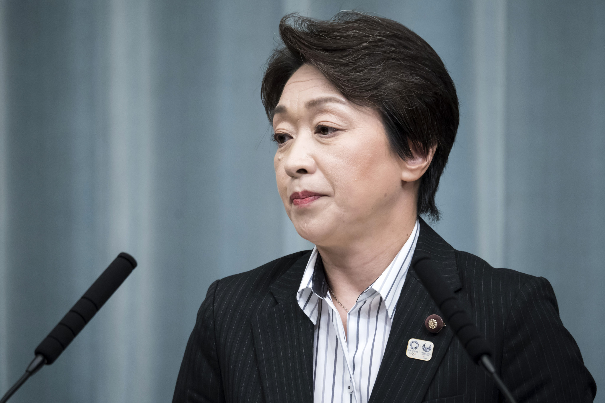 Seiko Hashimoto will continue her role as the Minister of the Olympics ©Getty Images