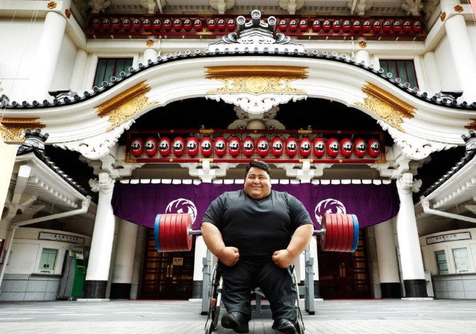 Powerlifting star Siamand Rahman is the latest to feature as part of the campaign ©Tokyo 2020
