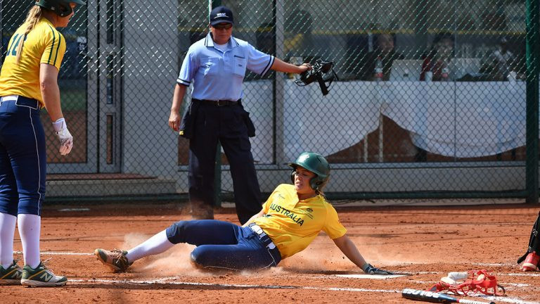 Australia eased past Indonesia to remain unbeaten ©WBSC