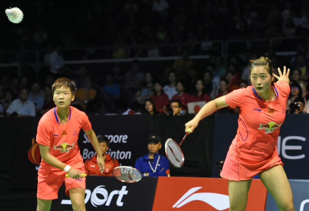 Yu Xiaohan (right) has been provisionally suspended by the BWF ©Getty Images