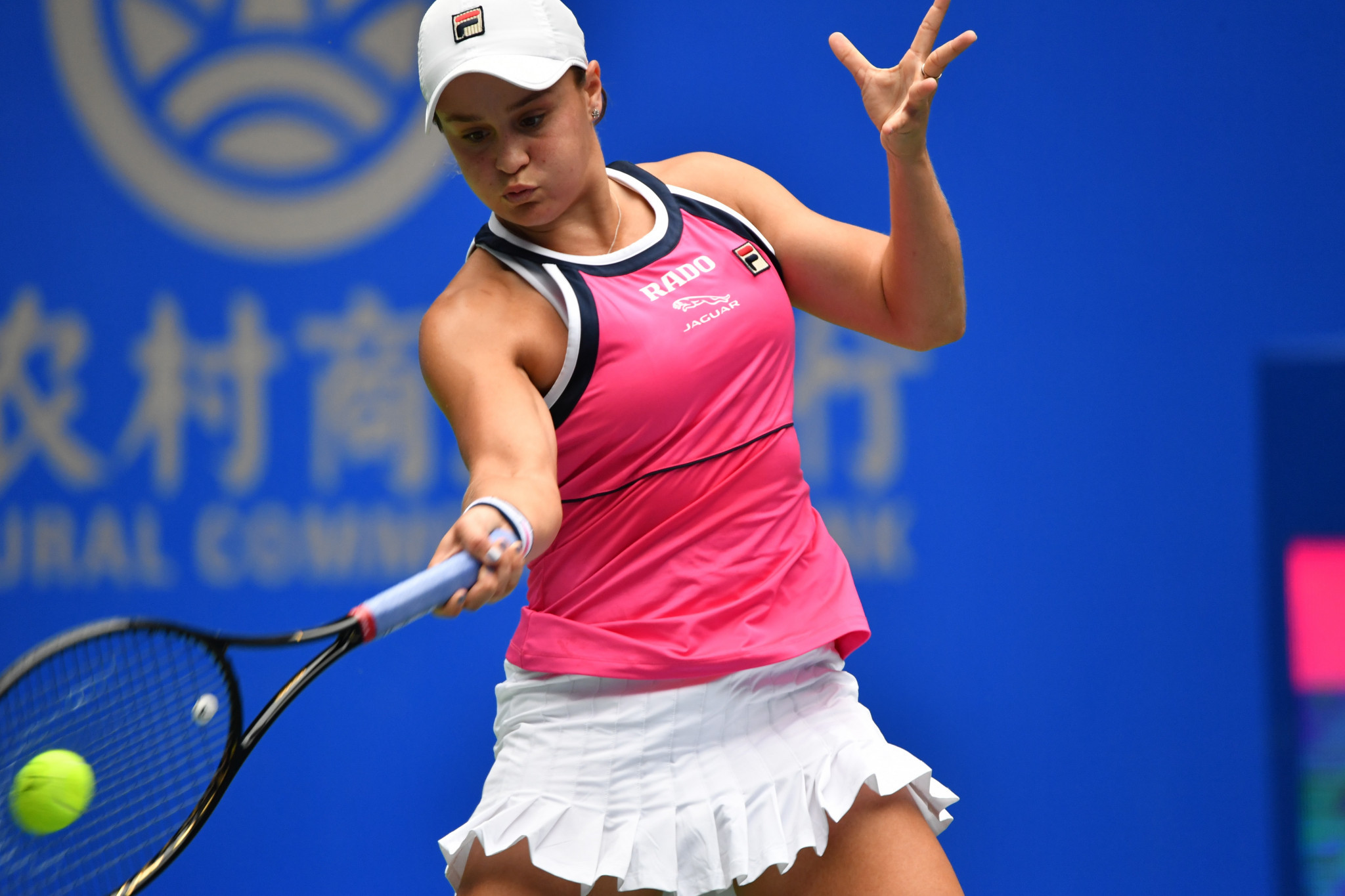 Australia's Ashleigh Barty advanced to the Wuhan Open quarter-finals ©Getty Images