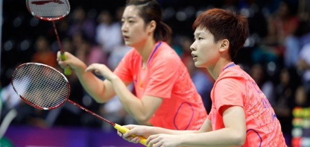 Yu Xiaohan (left) is due to face a BWF Doping Hearing Panel in January 2016