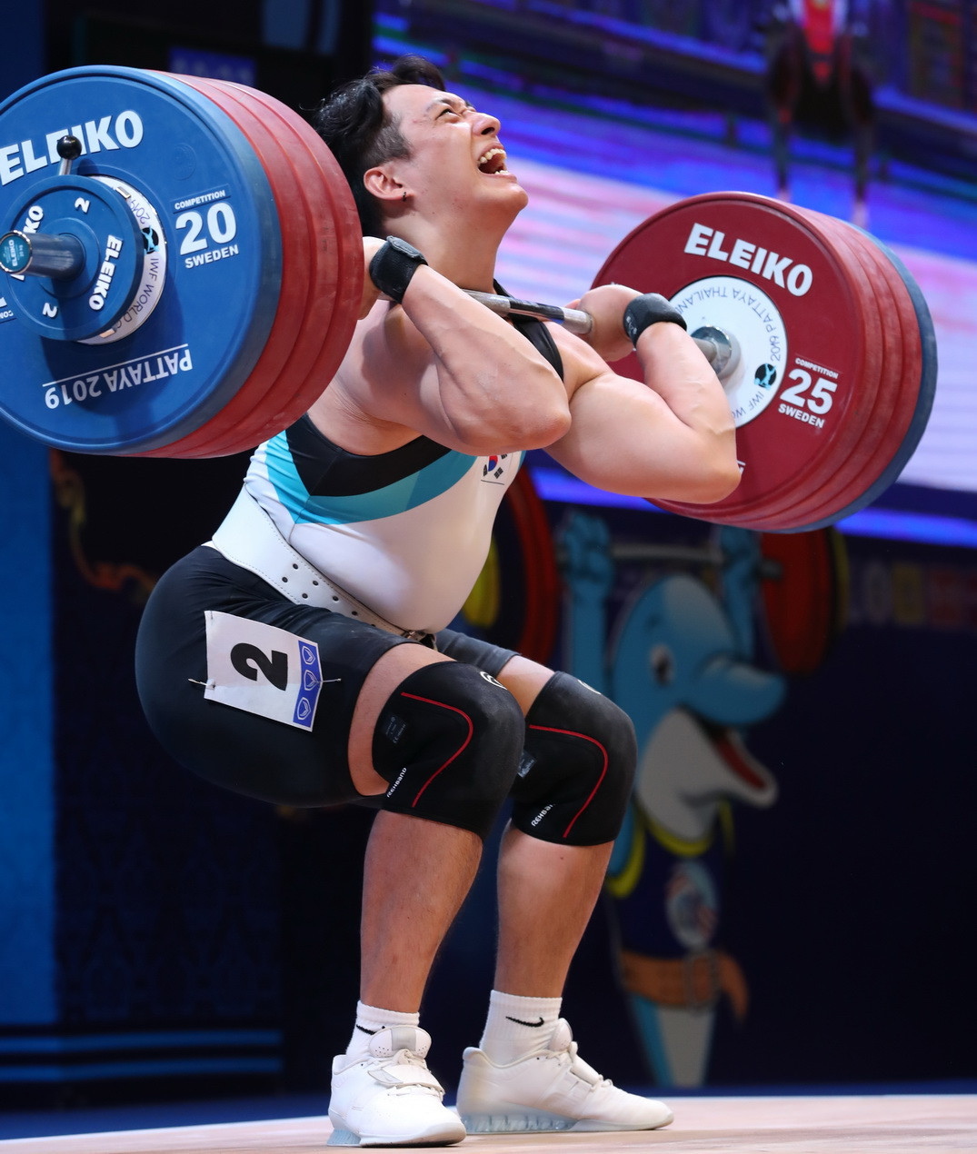 The overall silver medallist was South Korea's Jin Yunseong ©IWF