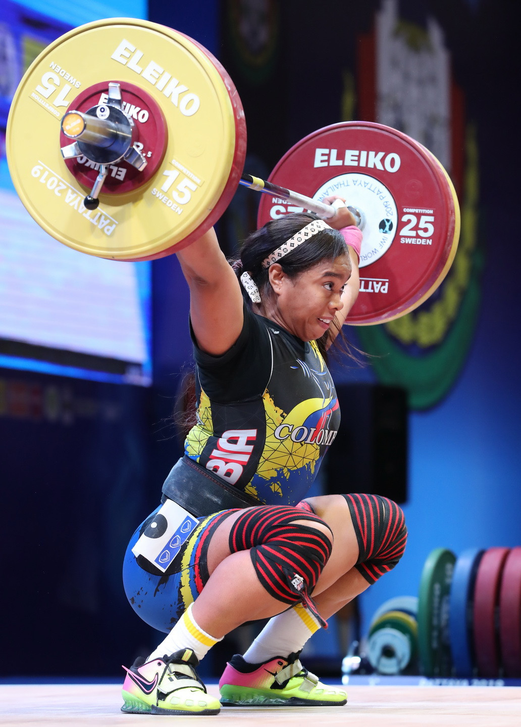The 29-year-old finished on a total of 247kg ©IWF