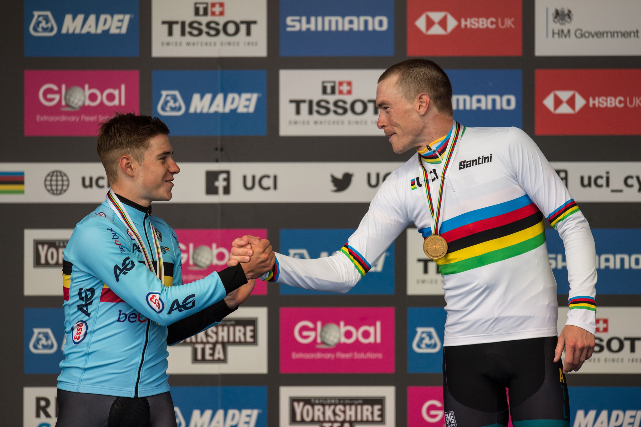 Belgium's teenager Remco Evenepoel finished as the runner-up to Rohan Dennis ©Getty Images