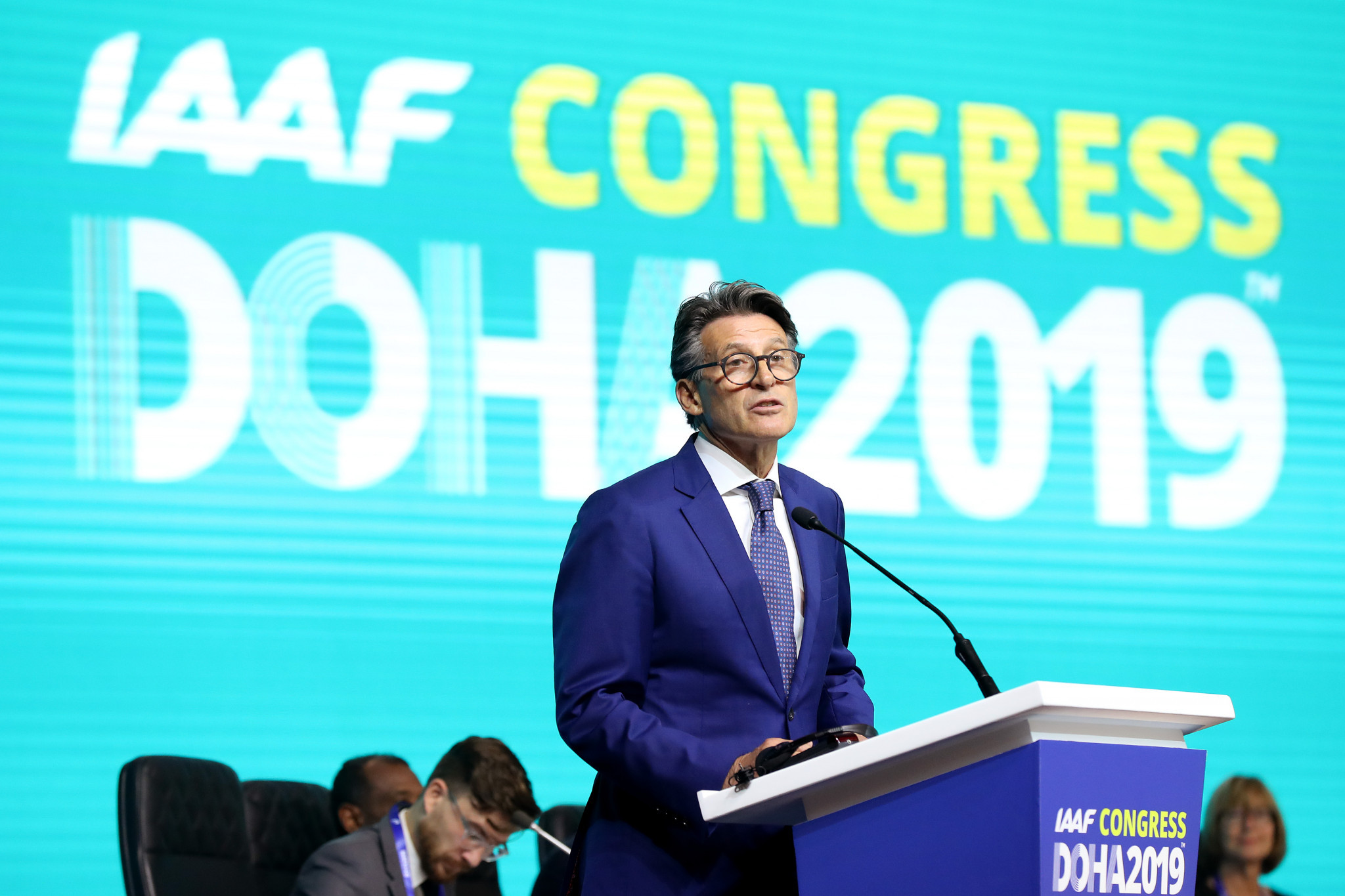 Sebastian Coe re-elected for second term as IAAF President on historic day for sport