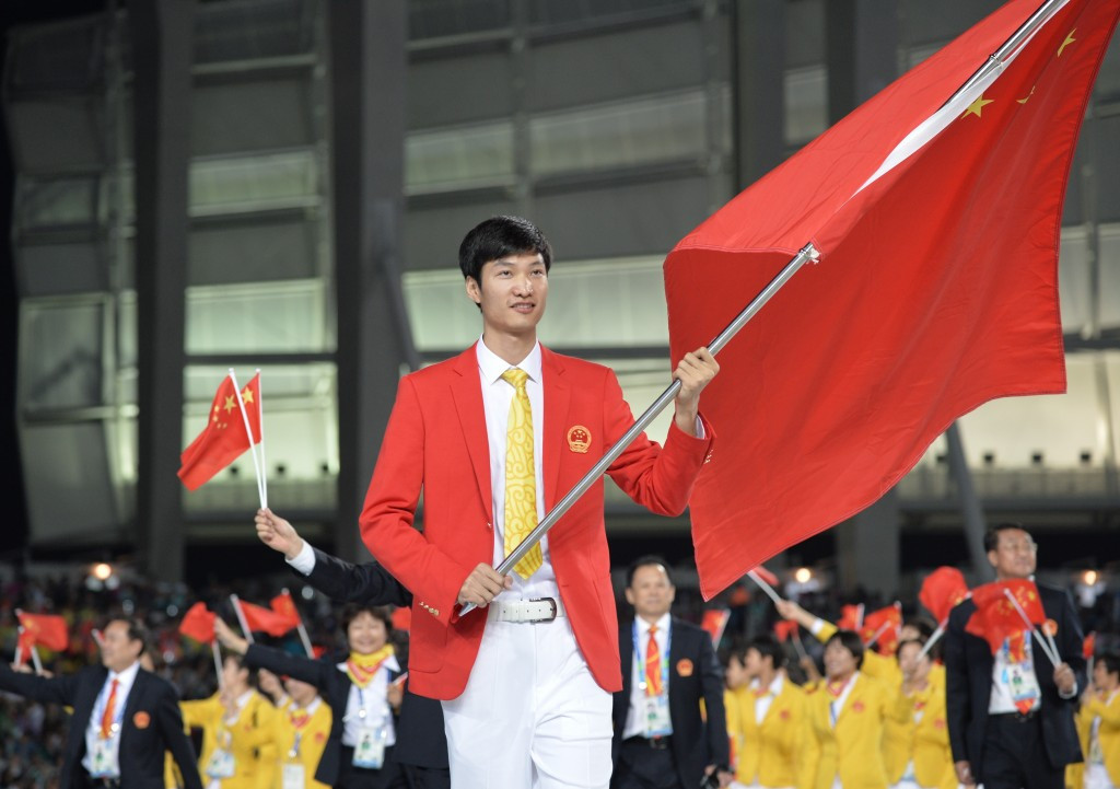 Olympic champion Lei Sheng has welcomed the award of the World Championships to China