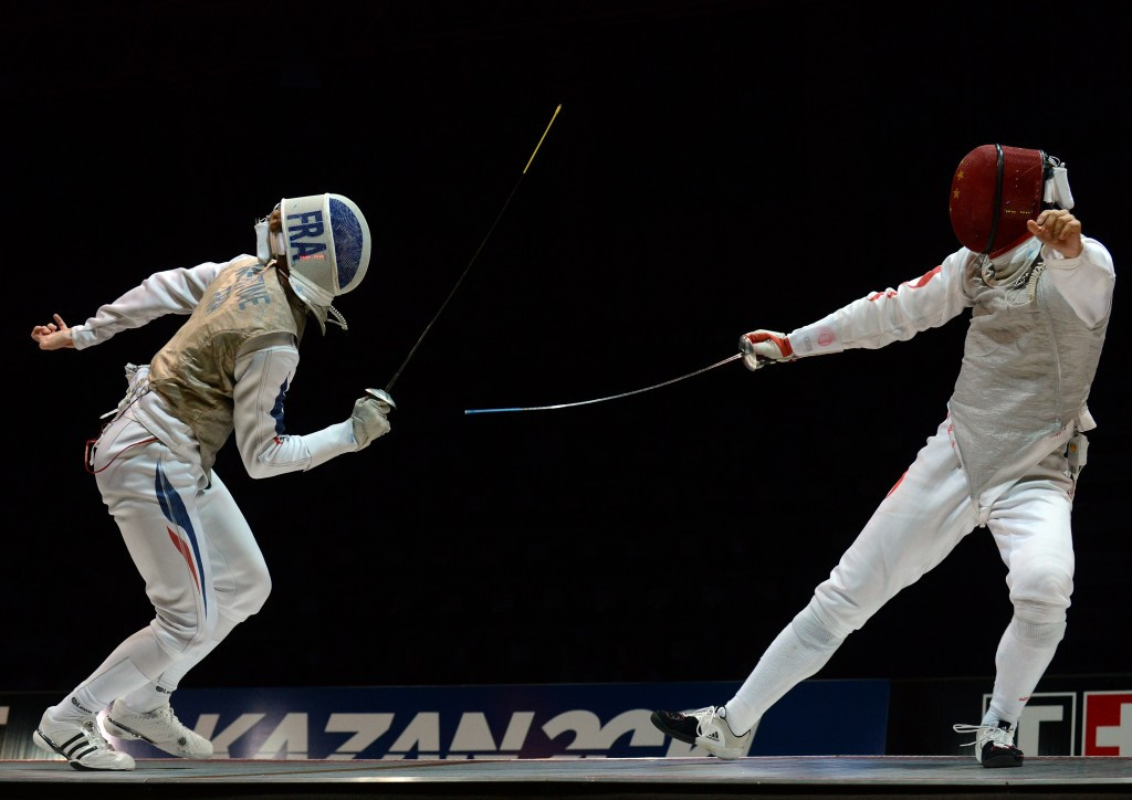 Wuxi will host the 2018 World Fencing Championships ©Getty Images