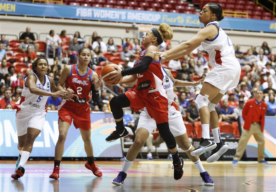 Semi-final sides decided at FIBA Women's AmeriCup with round of group fixtures to spare