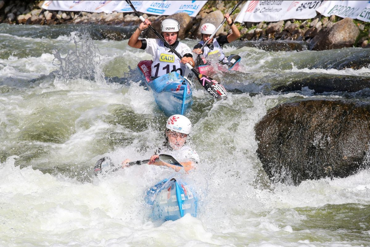 Team events took centre stage on day one of competition  ©ICF