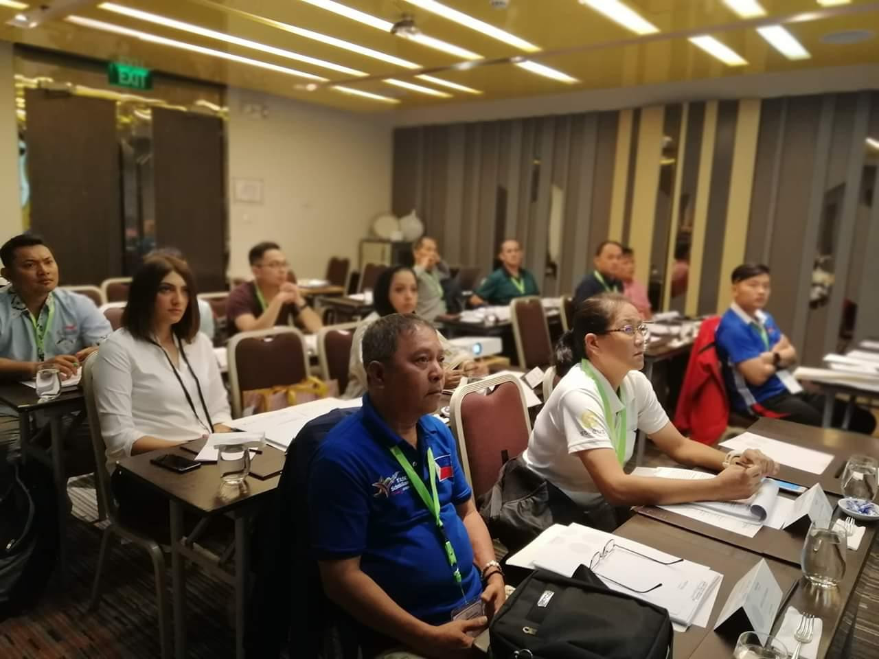 A training course for athletics officials has been held as part of the build-up to the 2020 ASEAN Para Games in Manila ©APC
