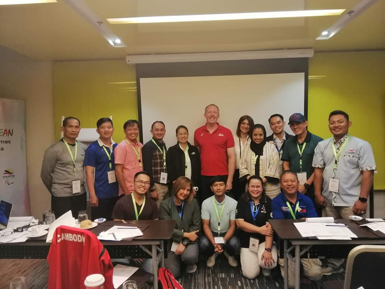 Administrators from Bahrain, Singapore, Indonesia, Cambodia and the Philippines took part in the World Para Athletics Competition Management Course ©APC