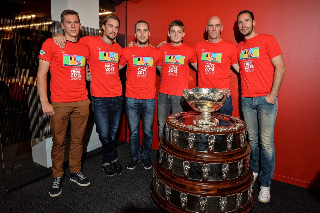 Belgium are due to host the Davis Cup final at Ghent's Flanders Expo ©Getty Images