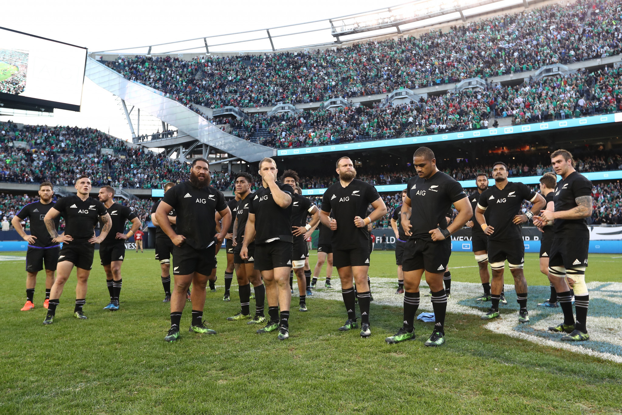 The All Blacks did not enjoy their visit to Soldier Field in Chicago in 2016, losing to Ireland 40-29 ©Getty Images