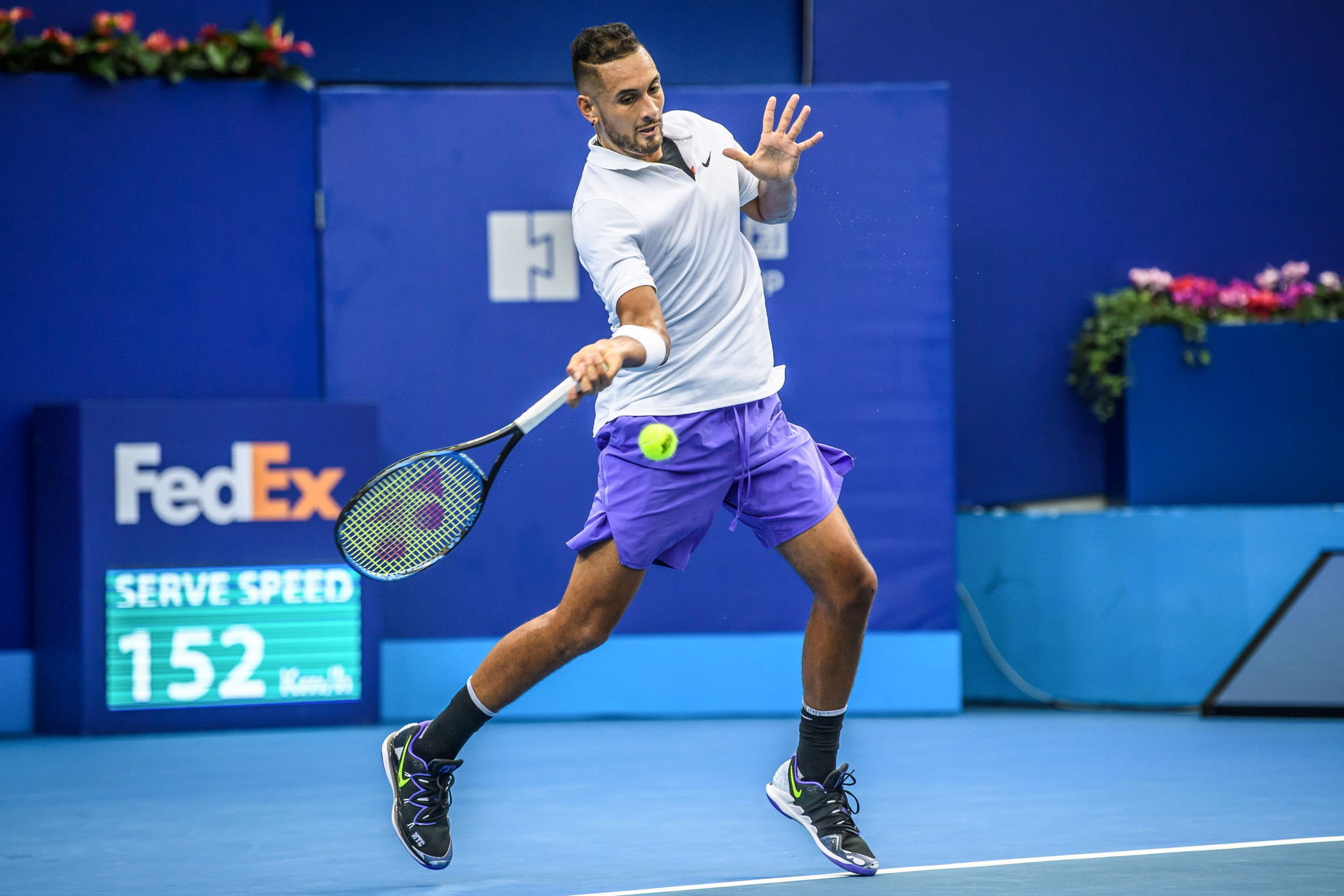 "Kyrgios given suspended 16-week ban for ""aggravated behaviour"" by ATP"