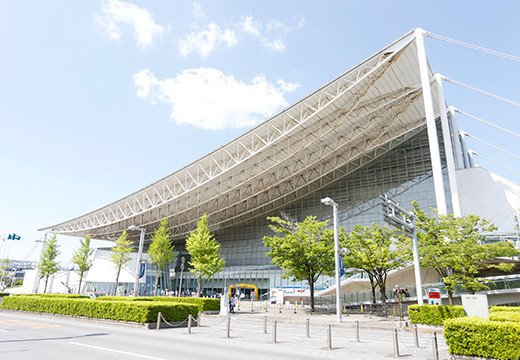 Two days of taekwondo are scheduled at Makuhari Messe Hall ©Tokyo 2020