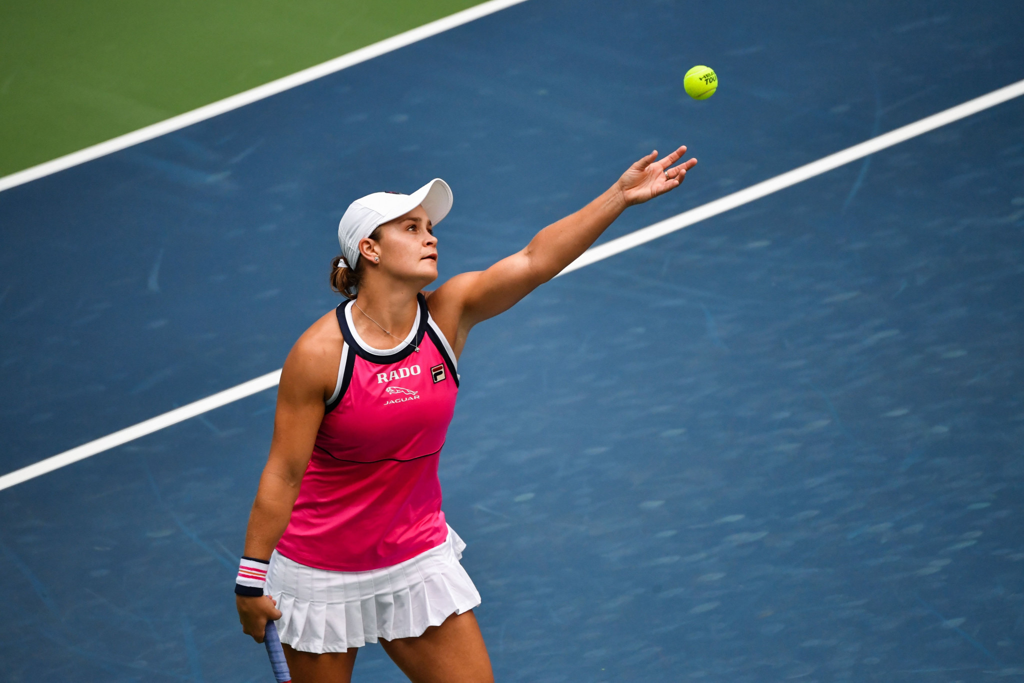 Barty into Wuhan Open semi-finals after battling win against Martic