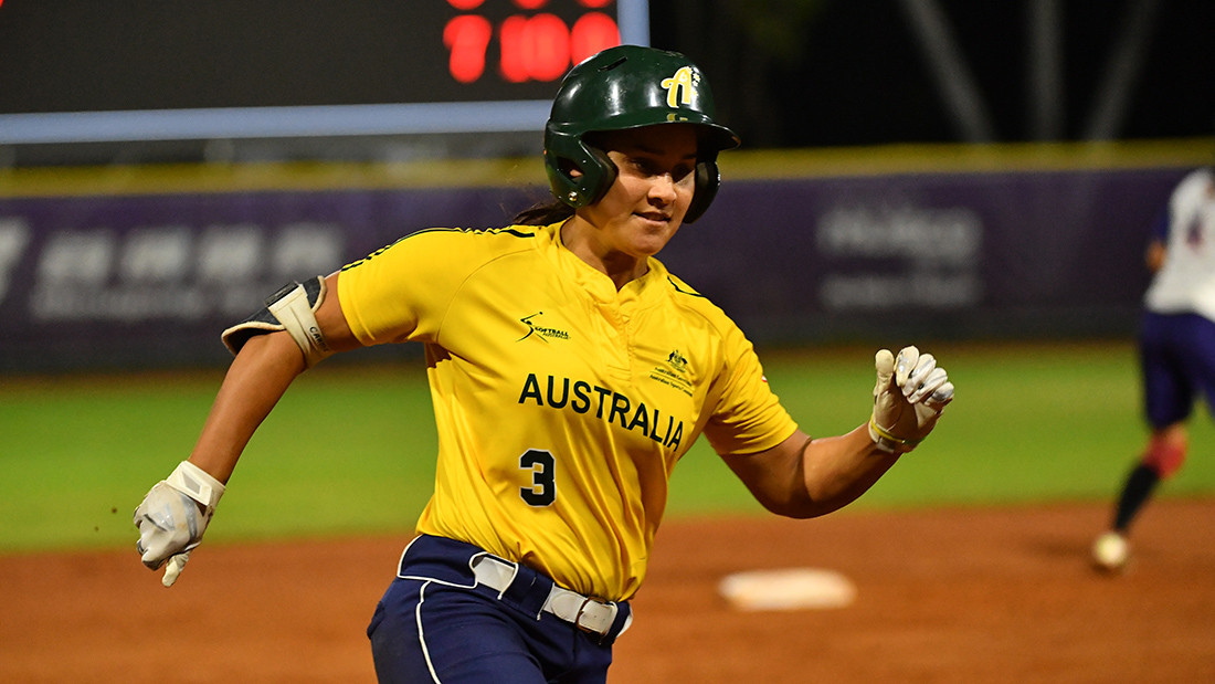 Australia are in good form in Shanghai ©WBSC