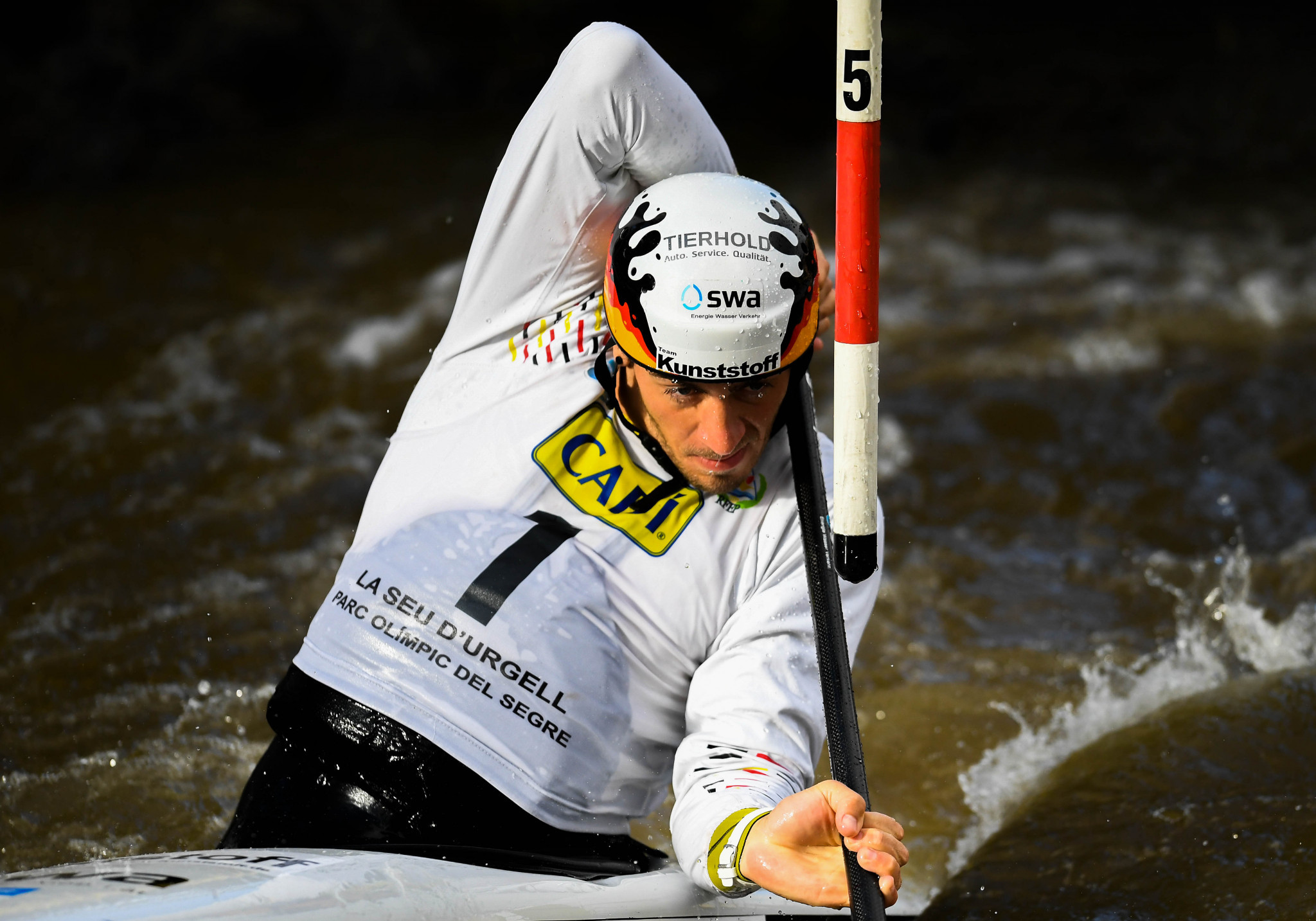 Tasiadis suffers shock men's C1 exit at Canoe Slalom World Championships
