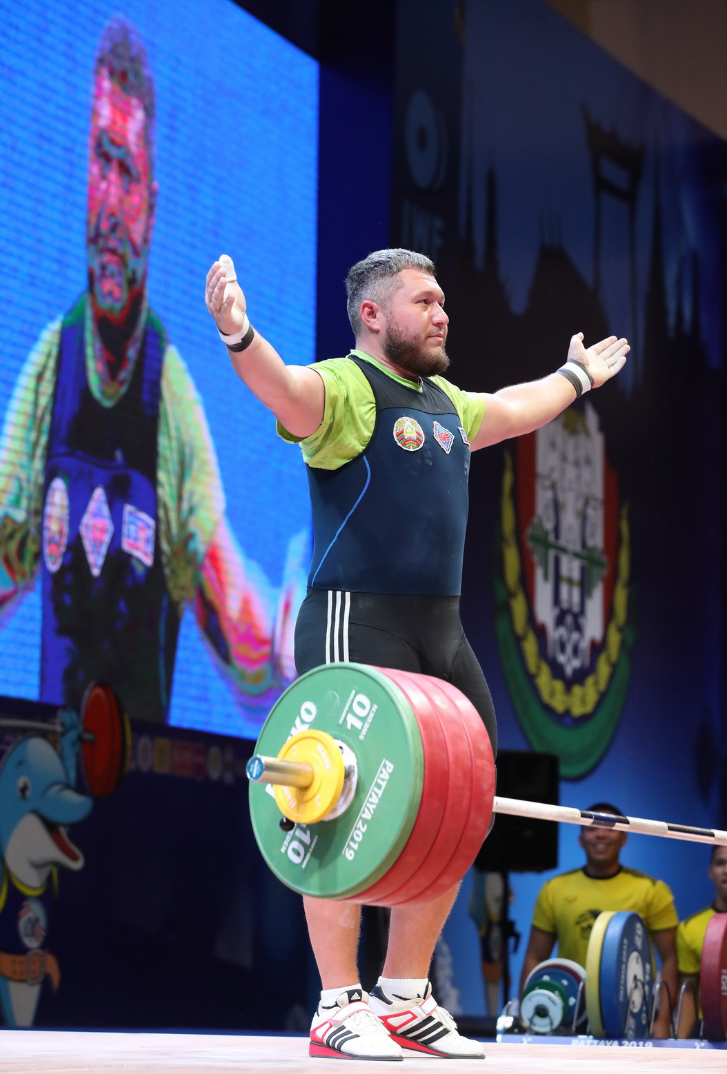 Belarus' Andrei Aramnau was the runner-up in the total ©IWF