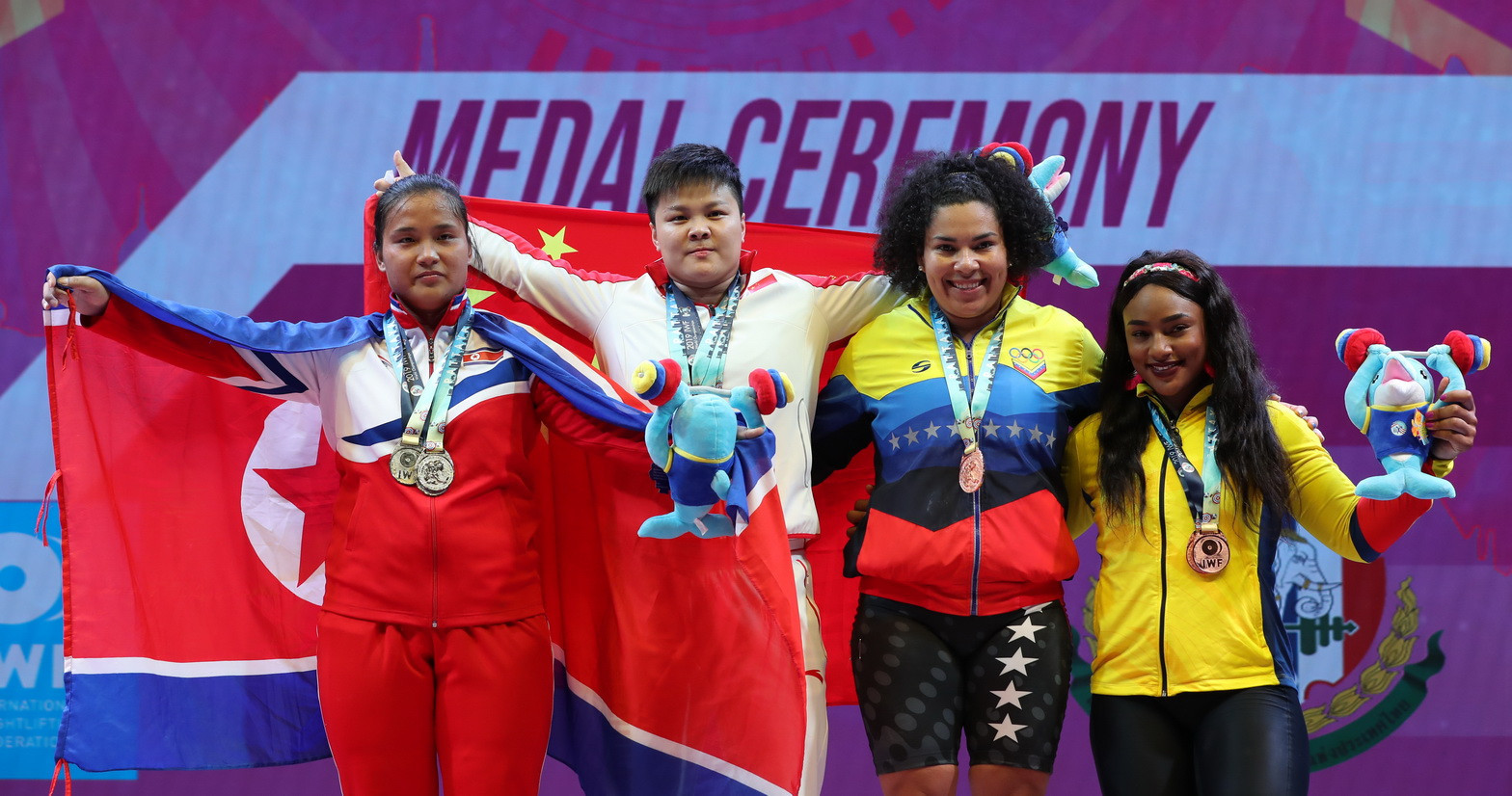 IWF World Championships: Day nine of competition