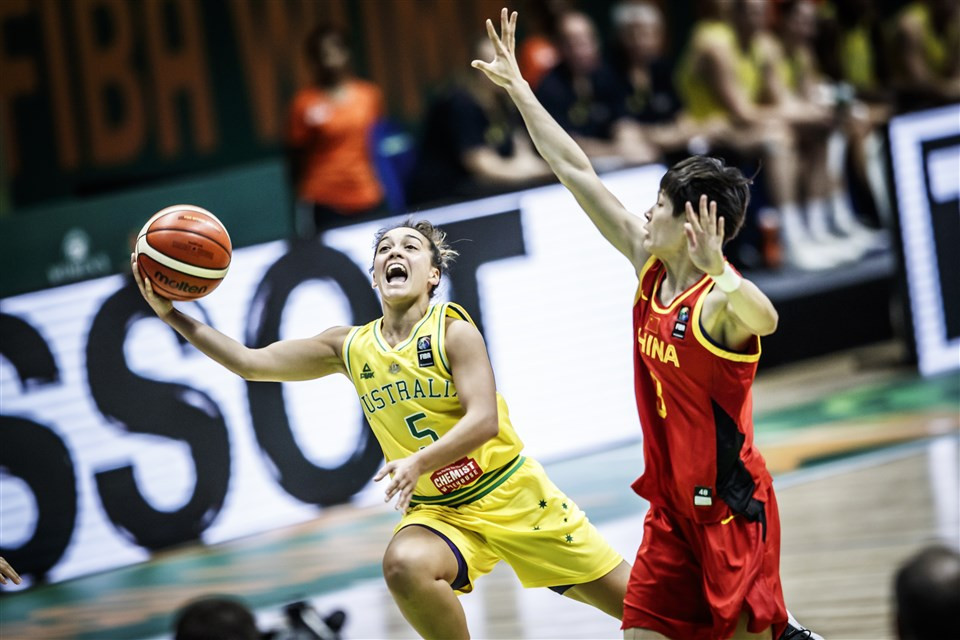 China beat Australia to reach semi-finals at FIBA Women's Asia Cup