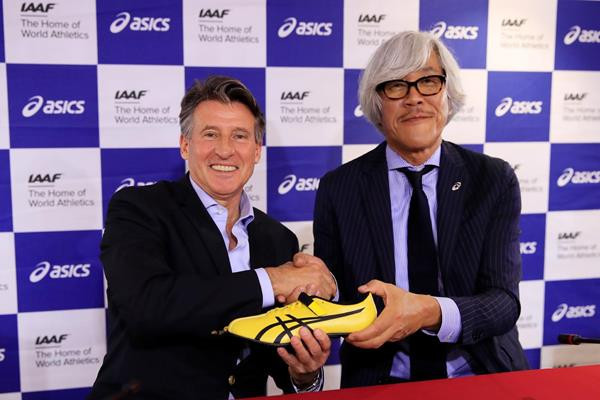IAAF renew sponsorship deal with ASICS on eve of World Championships