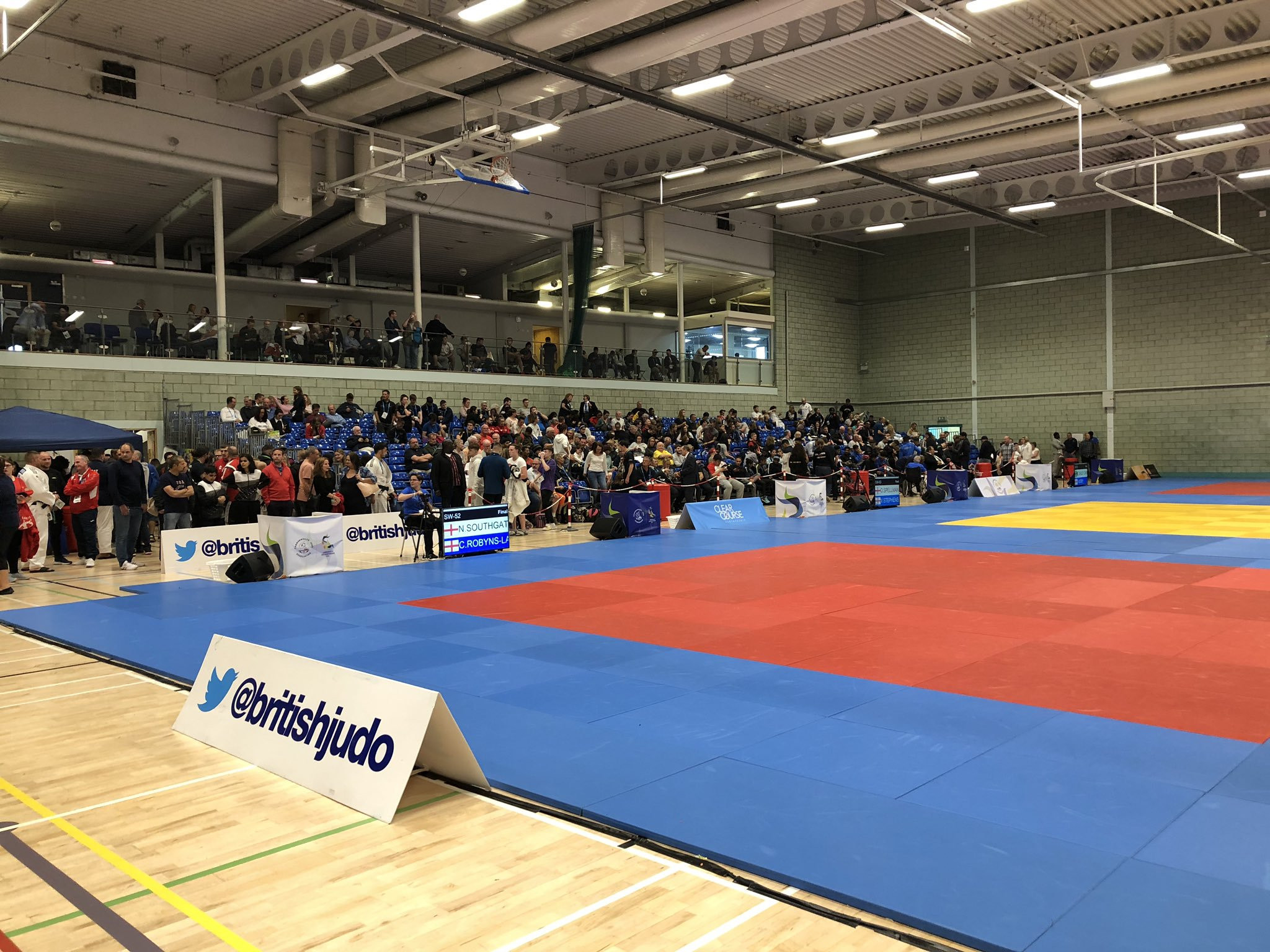 Host nation England have soared to the top of the medal table at the Commonwealth Judo Championships in Walsall ©Twitter/British Judo