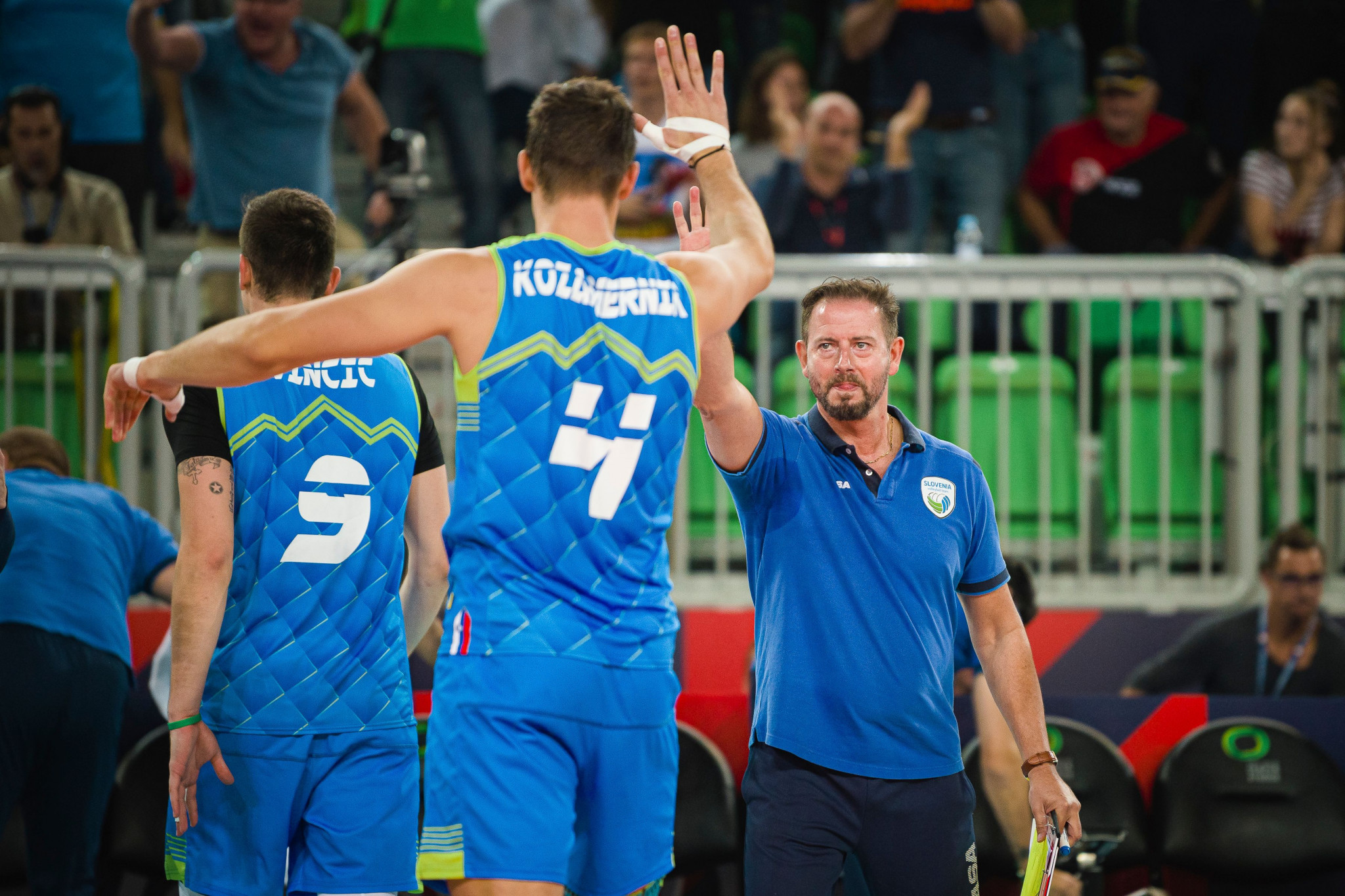 Slovenia reach men's Euro Volleyball final with sensational victory over Poland