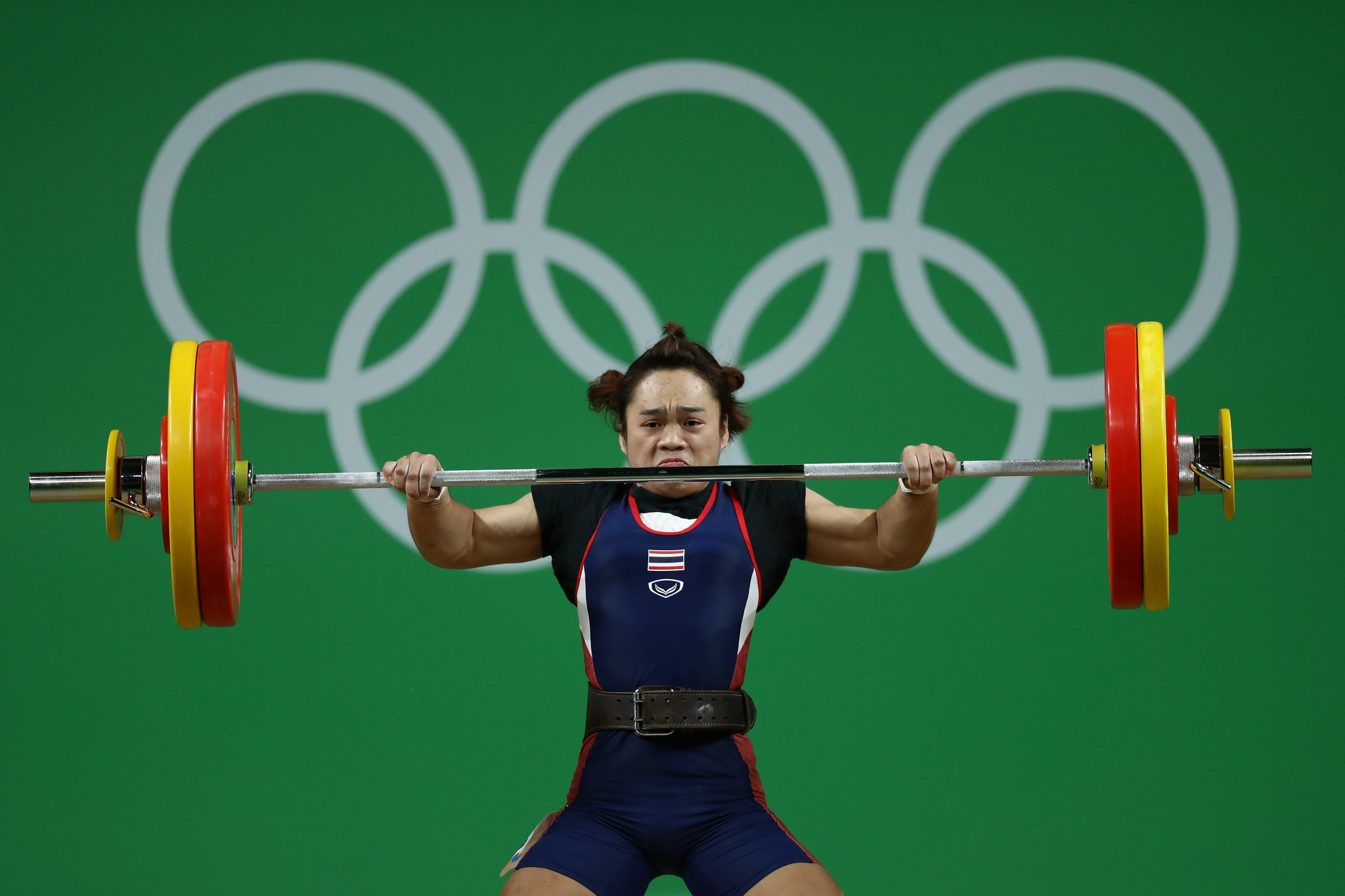 Rio 2016 Olympic gold medallist Sukanya Srisurat was among the nine members of Thailand's team who tested positive at last year's IWF World Championships in Turkmenistan's capital Ashgabat ©Getty Images