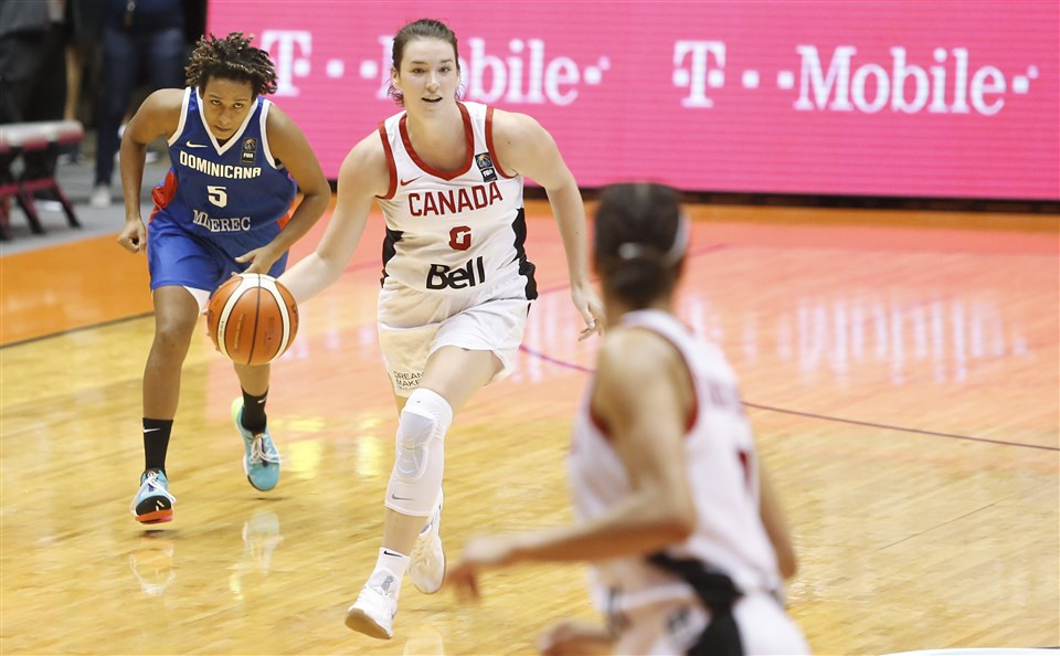 Canada beat Dominican Republic to finish top of Group A at the FIBA Women's AmeriCup ©FIBA