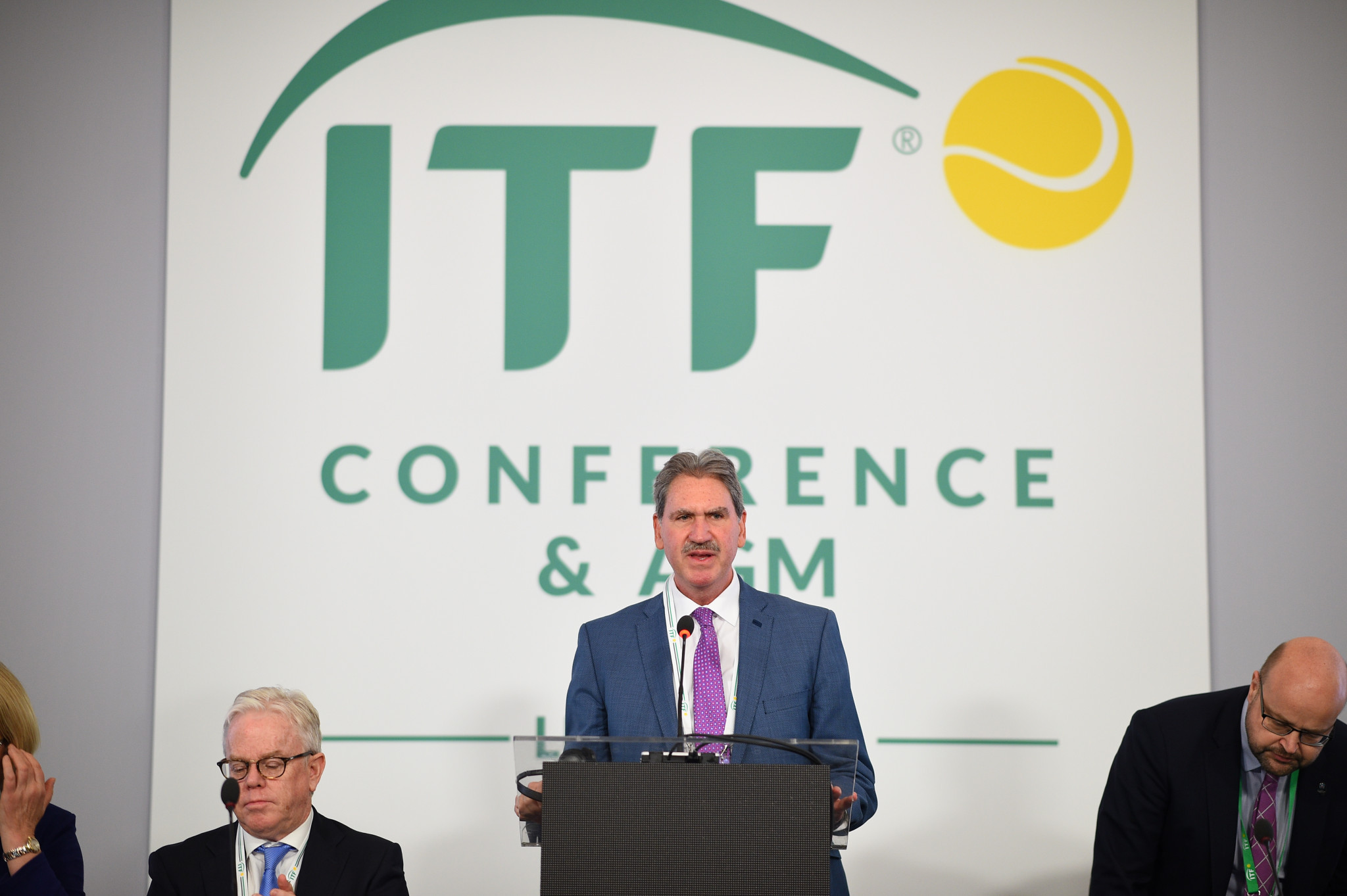 Haggerty comfortably re-elected ITF President