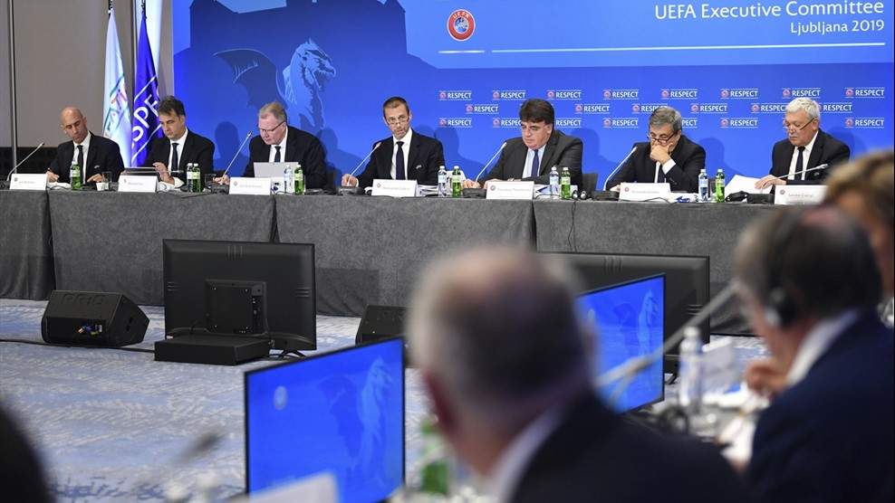 UEFA postpones all national team matches in June due to coronavirus pandemic