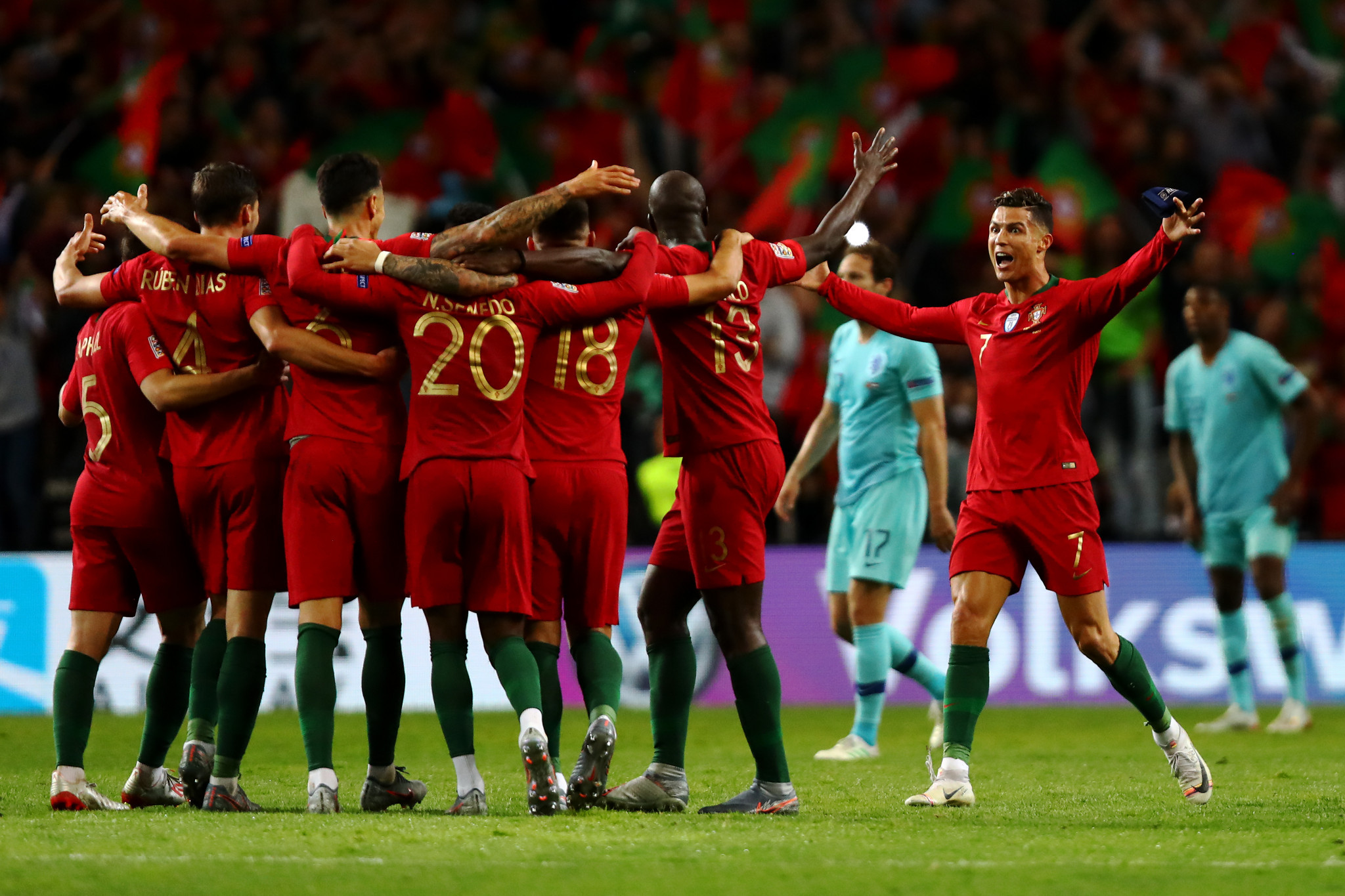 Portugal won the inaugural Nations League competition earlier this year ©Getty Images
