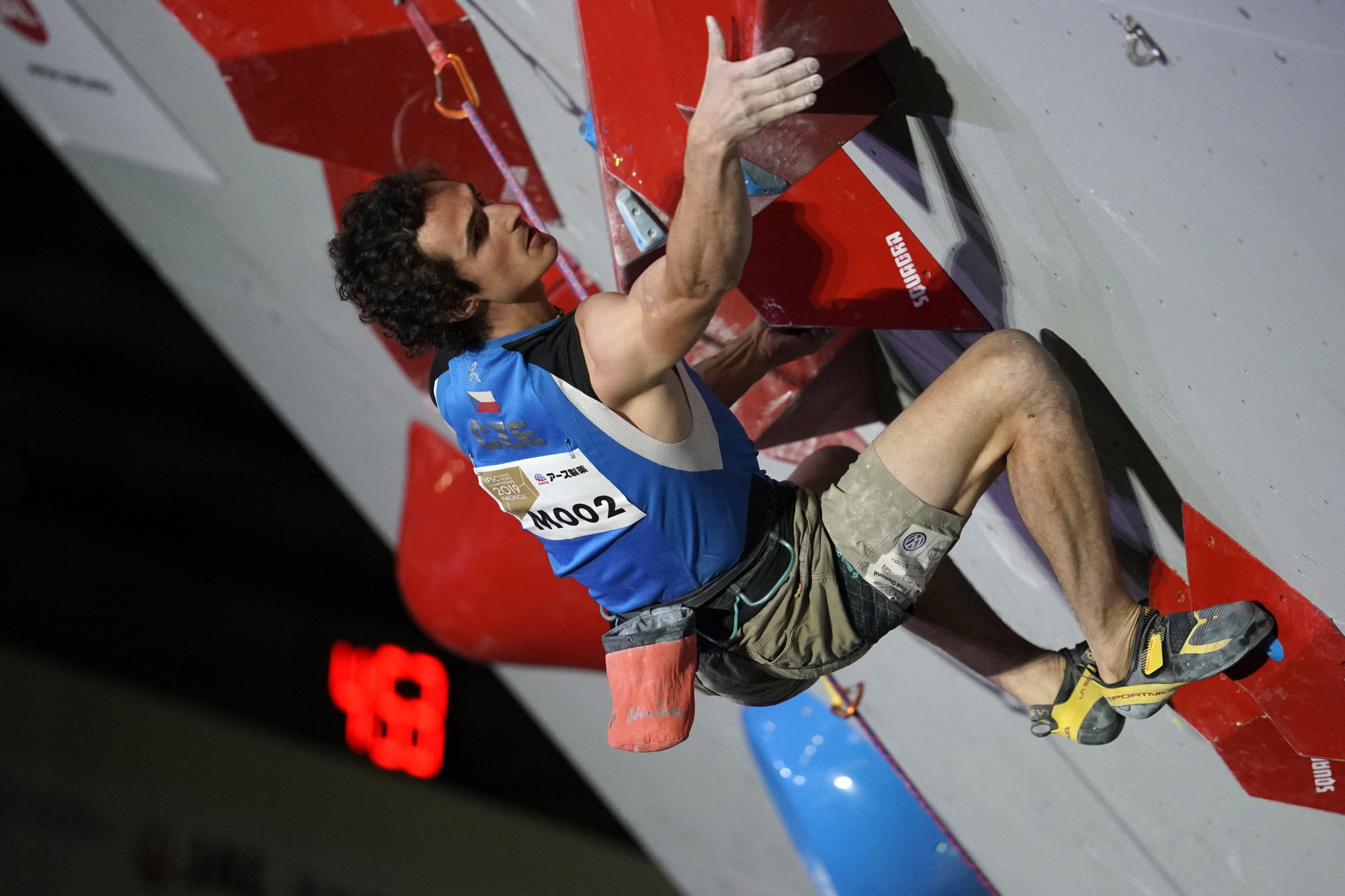 Newly-crowned men's lead world champion, Czech Republic's Adam Ondra, is due to be back in action in Kranj ©Getty Images