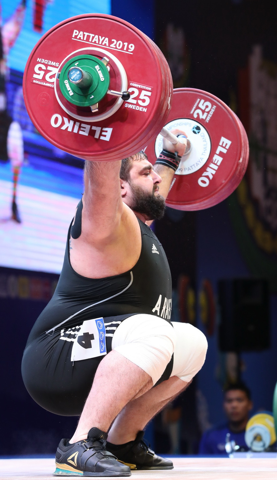 Compatriot Ruben Aleksanyan was the overall bronze medallist ©IWF