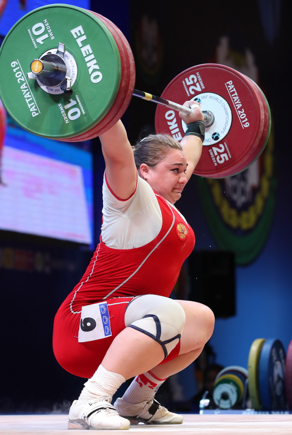 Both those records previously belonged to Russia's Tatiana Kashirina, who was the silver medallist across all three events today ©IWF