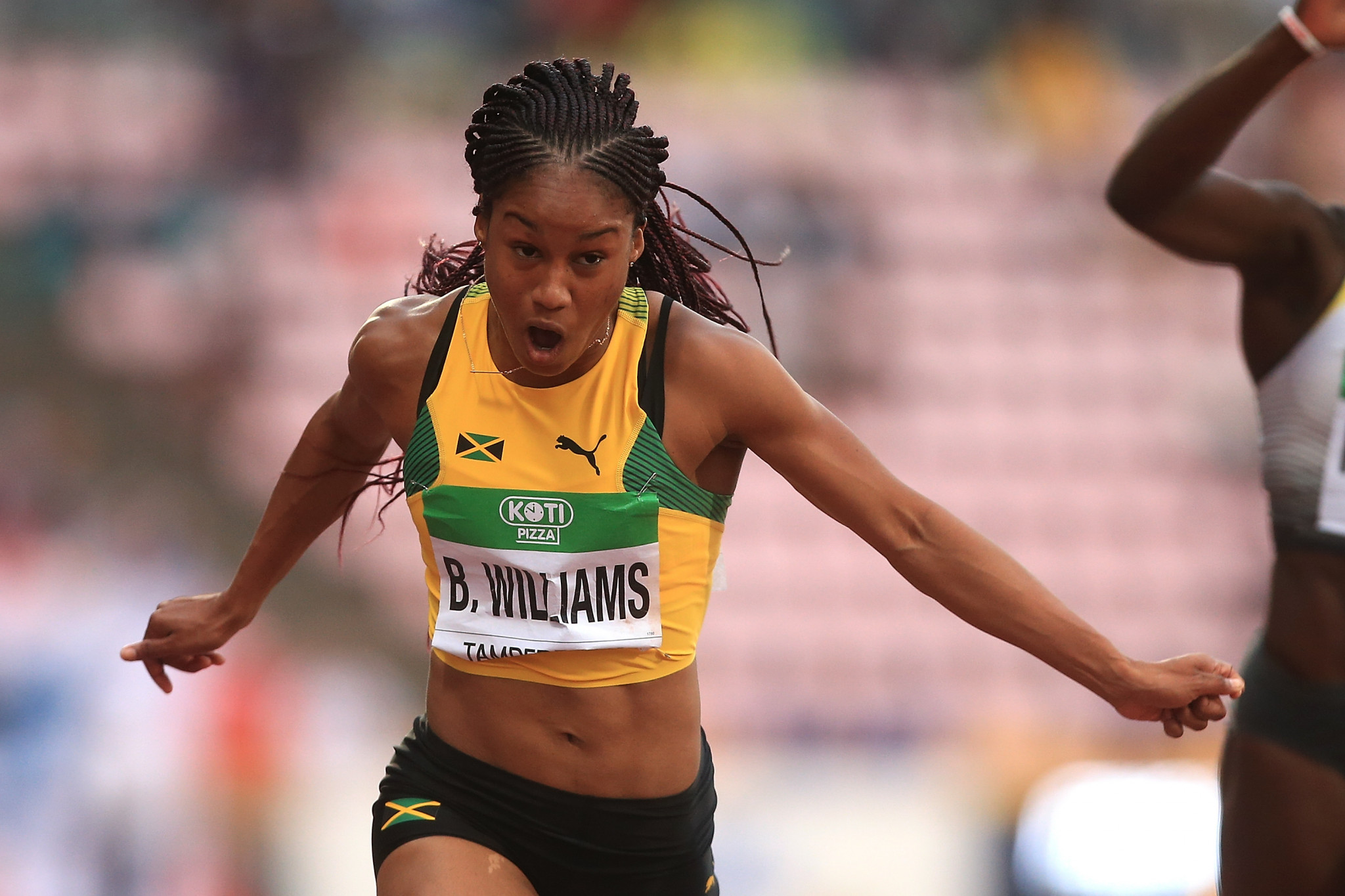 Jamaica's Briana Williams is the current world under-20 champion in the 100 and 200 metres ©Getty Images